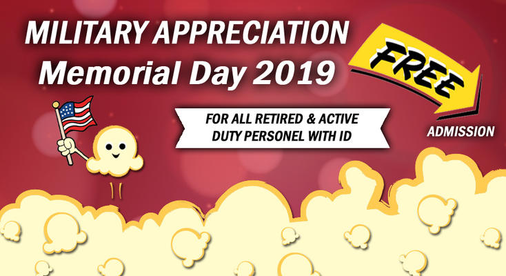 Military Appreciation at the Movies